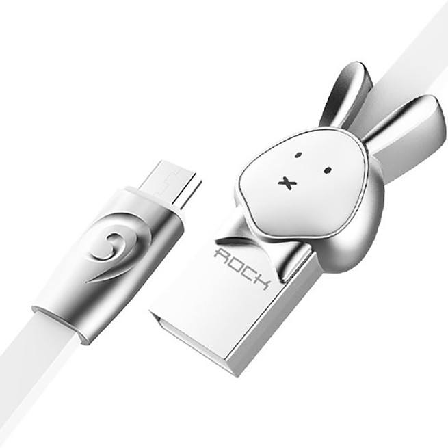 کابل میکرو Rock Chinese Zodiac Micro Cable Rabbit RCB0524