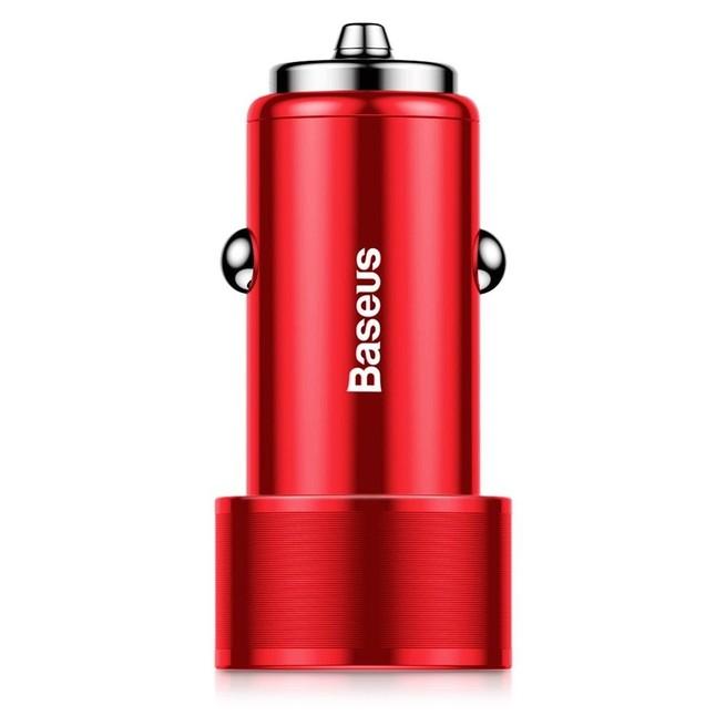شارژر فندکی Baseus Small Screw Dual USB