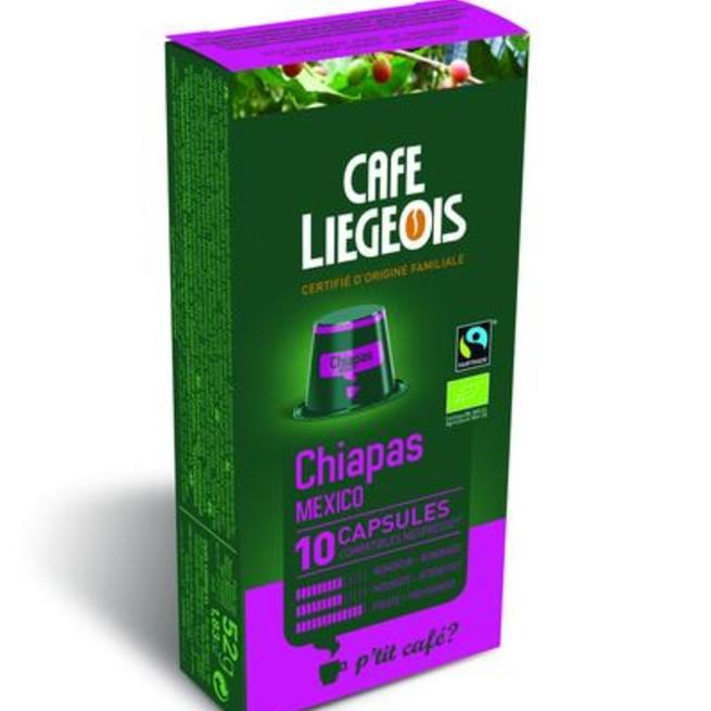 کپسول قهوه شیائومی مدل Liegeios Chiapas Mecxico بسته 10 عددی
