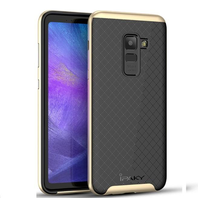 قاب محافظ آیپکی iPaky 2in1 Hybrid Samsung Galaxy A8 Plus