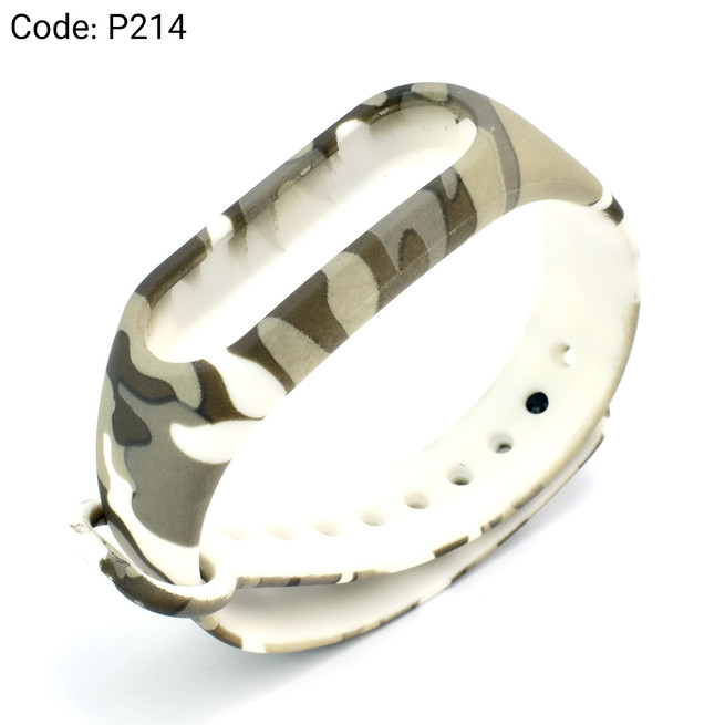 بند طرح دار دستبند سلامتی شیائومی کد P214
