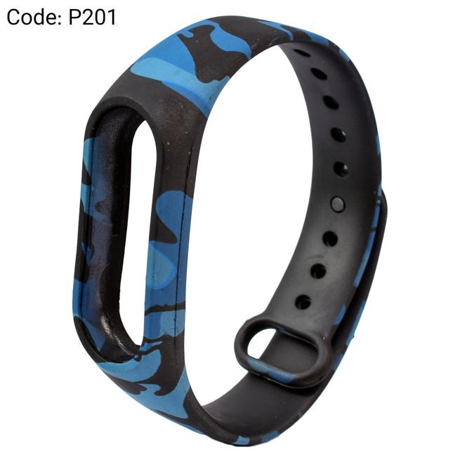 بند طرح دار دستبند سلامتی شیائومی کد P201