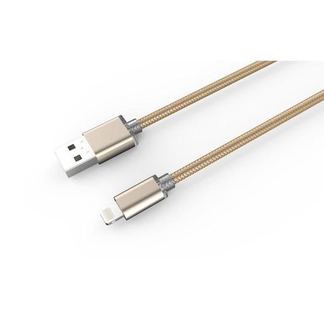کابل تبدیل USB به لایتنینگ الدینیو مدل LS08 طول 1 متر
