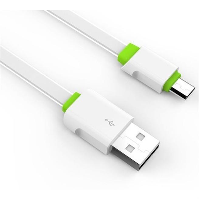 کابل تبدیل USB به MicroUSB الدینیو مدل LS01 طول 2 متر