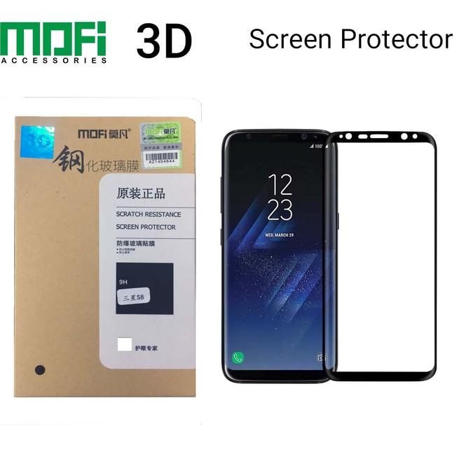 گلس سه بعدی موفی Mofi Full Frame Glass Samsung Galaxy S8 plus