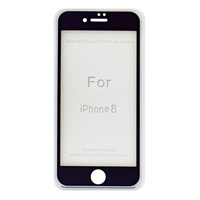 محافظ صفحه شیشه ای 3 بعدی Apple iPhone 8 Full Glue 3D Glass 2in1