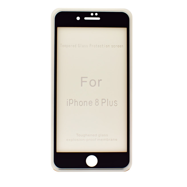 محافظ صفحه شیشه ای 3 بعدی Apple iPhone 8 Plus Full Glue 3D Glass 2in1