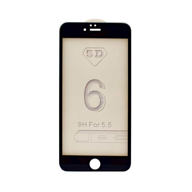 محافظ صفحه شیشه ای 5 بعدی iPhone 6S Plus Full Glue 5D Glass