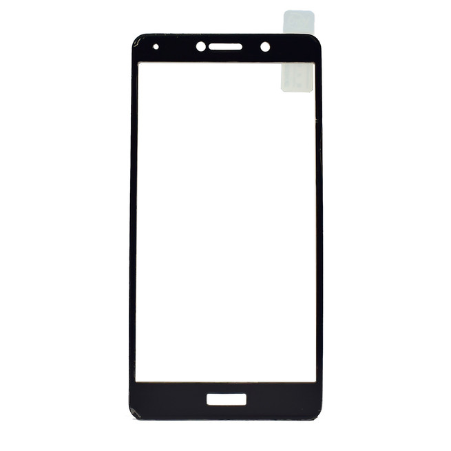 محافظ صفحه شیشه ای تمام چسب Huawei Honor 6X Full Frame Soft Bumper Glass