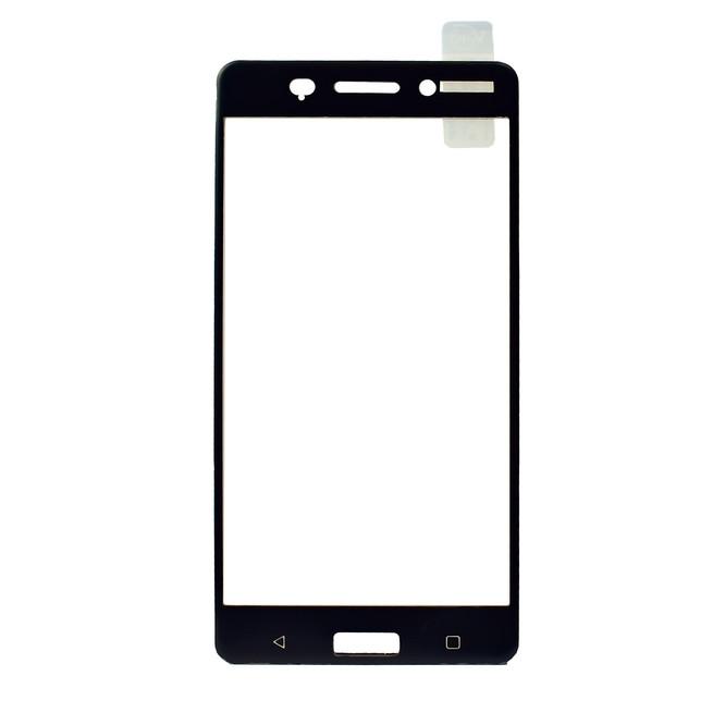 محافظ صفحه گلس تمام چسب Nokia 6 Full Frame Soft Bumper Glass