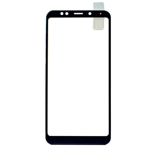 محافظ صفحه شیشه ای تمام چسب Xiaomi Redmi 5 Plus Full Frame Soft Bumper Glass