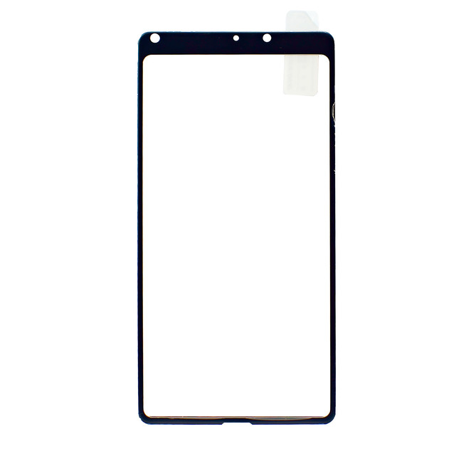 محافظ صفحه شیشه ای تمام چسب Xiaomi Mi Mix2 Full Frame Soft Bumper Glass