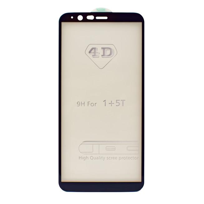 محافظ صفحه شیشه ای 4 بعدی OnePlus 5T Full Glue 4D Glass