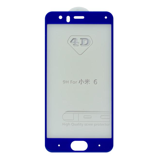 محافظ صفحه شیشه ای 4 بعدی Xiaomi Mi 6 Full Glue 4D Glass