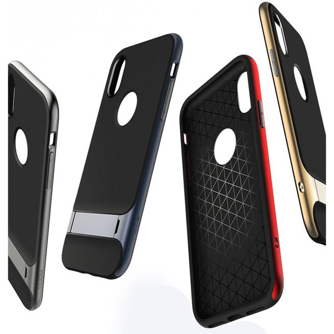 قاب محافظ راک Rock Royce Case iPhone X