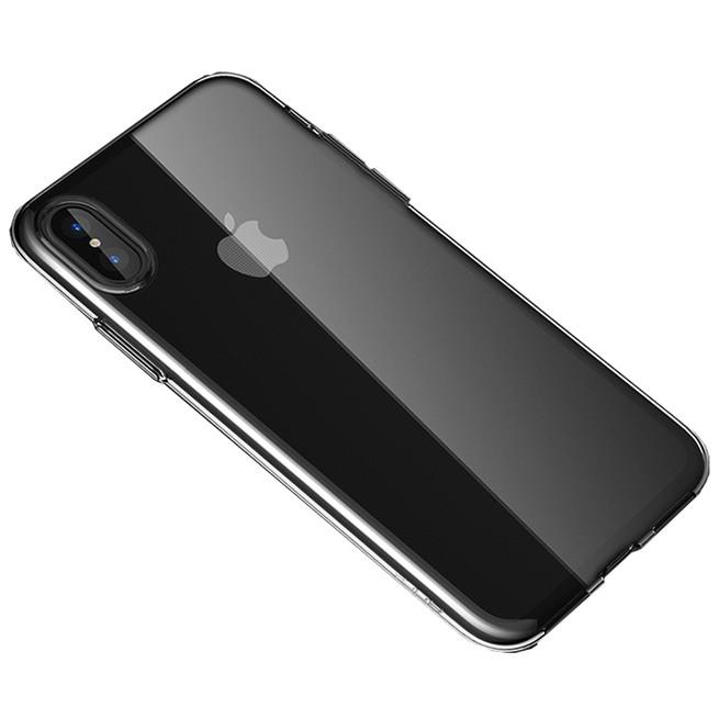 قاب محافظ Rock Back Cover Jelly Ultrathin For iPhone X