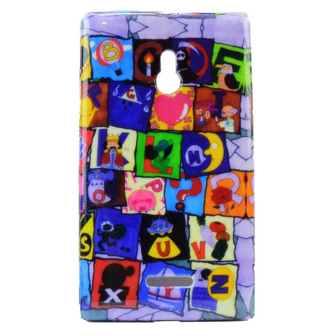 کاور طرح دار Nokia XL T4