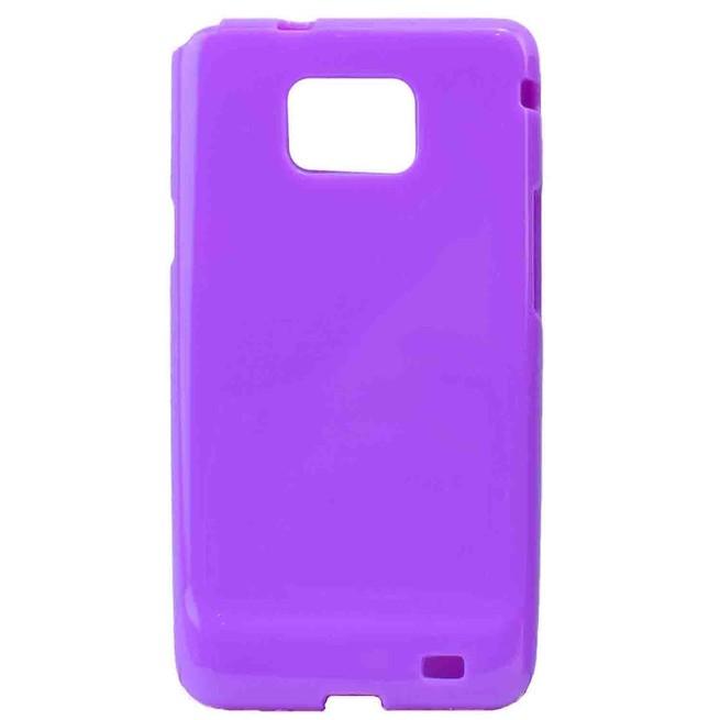 کاور ژله ای رنگی Samsung Galaxy S2 کد 10/4