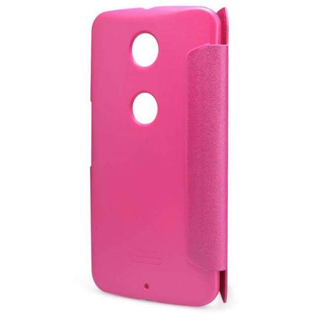 کیف محافظ نیلکین Nillkin Sparkle Leather Case Motorola Nexus 6