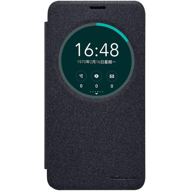 کیف محافظ نیلکین Nillkin Sparkle Leather Case Asus Zenfone 2 Ze550