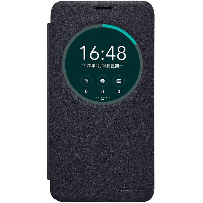 کیف محافظ نیلکین Nillkin Sparkle Leather Case Asus Zenfone 2 Ze551