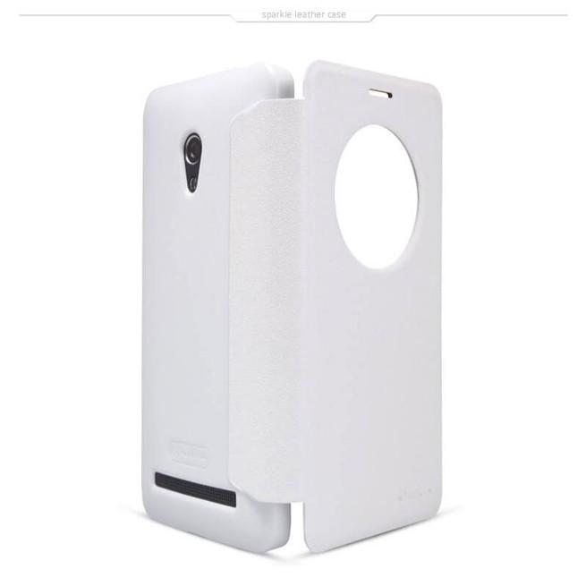 کیف محافظ نیلکین Nillkin Sparkle Leather Case Asus Zenfone 5 Lite