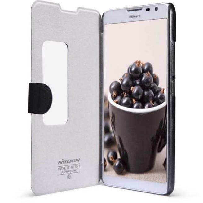 کیف محافظ نیلکین Nillkin Sparkle Leather Case Huawei Mate 2