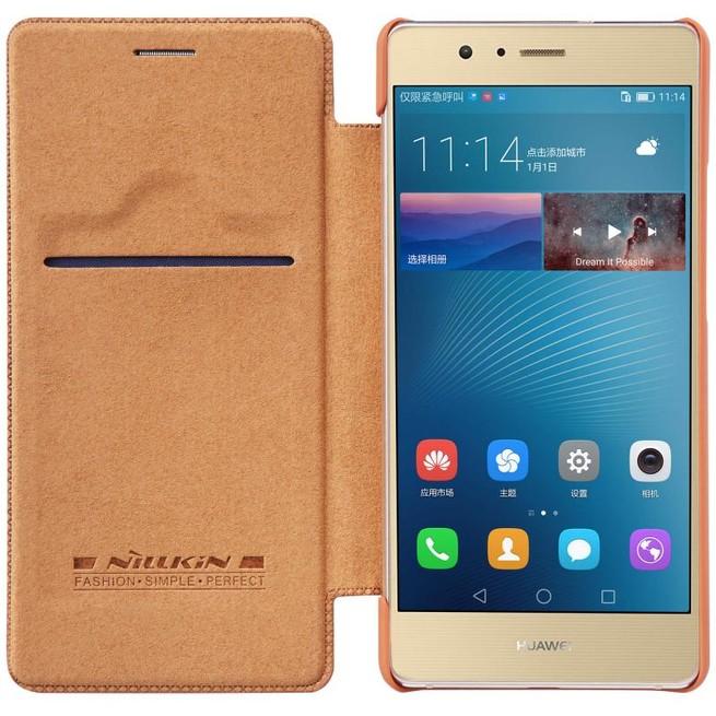 کیف محافظ نیلکین Nillkin Qin Leather Case Huawei P9 Lite