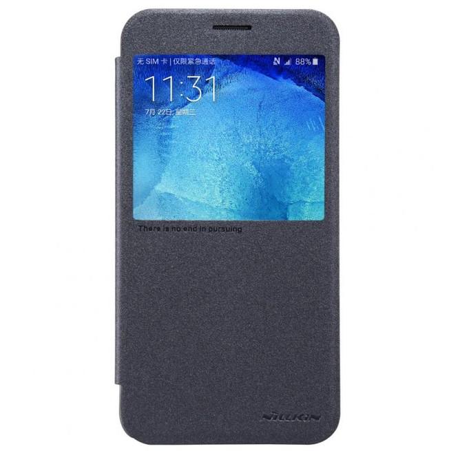 کیف محافظ نیلکین Nillkin Sparkle Leather Case Samsung Galaxy A8