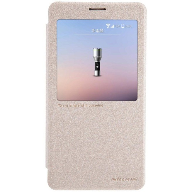 کیف محافظ نیلکین Nillkin Sparkle Leather Case Samsung Galaxy Note4