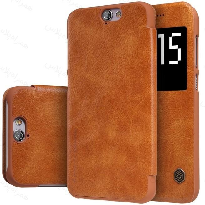 کیف محافظ نیلکین Nillkin Qin Leather Case HTC One A9