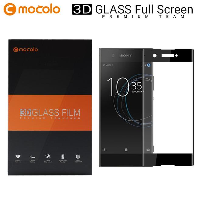 محافظ صفحه گلس فول فریم موکولو Mocolo Full Frame Glass Sony Xa1 Ultra
