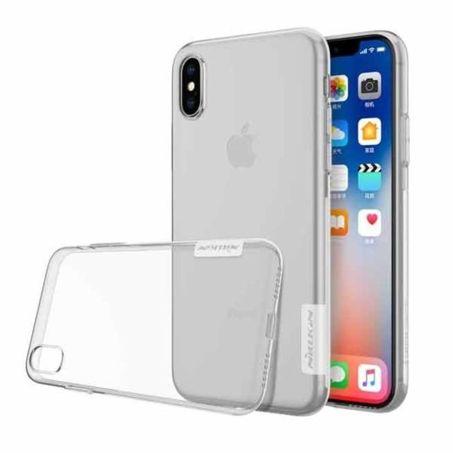قاب ژله ای نیلکین Nillkin TPU Case Apple iPhone X