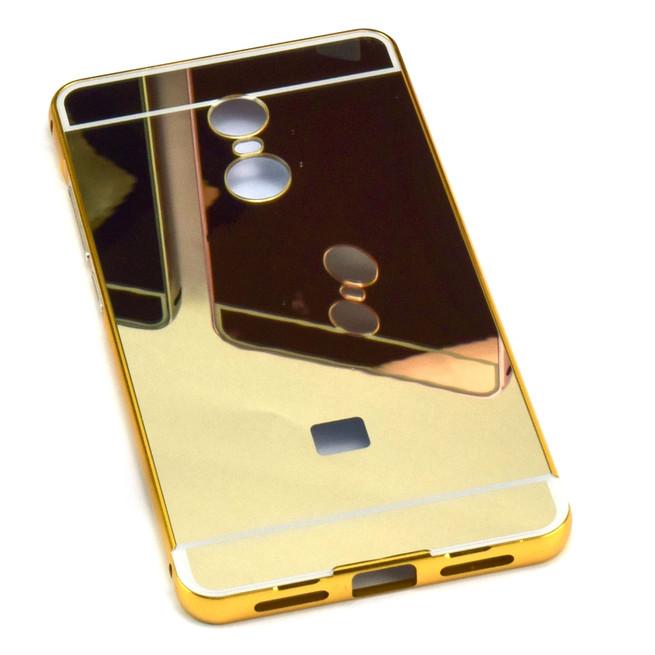 قاب محافظ آینه ای Aluminum Bumper Mirror Case For Xiaomi Redmi Note 4X
