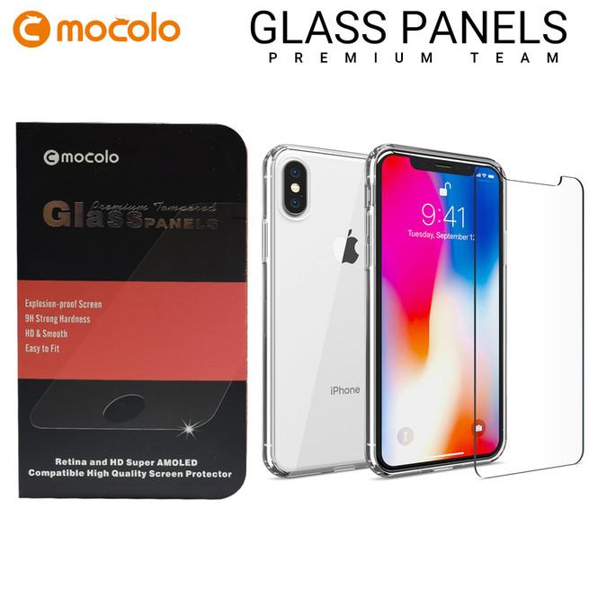 محافظ صفحه گلس شفاف موکولو Mocolo Glass iPhone X