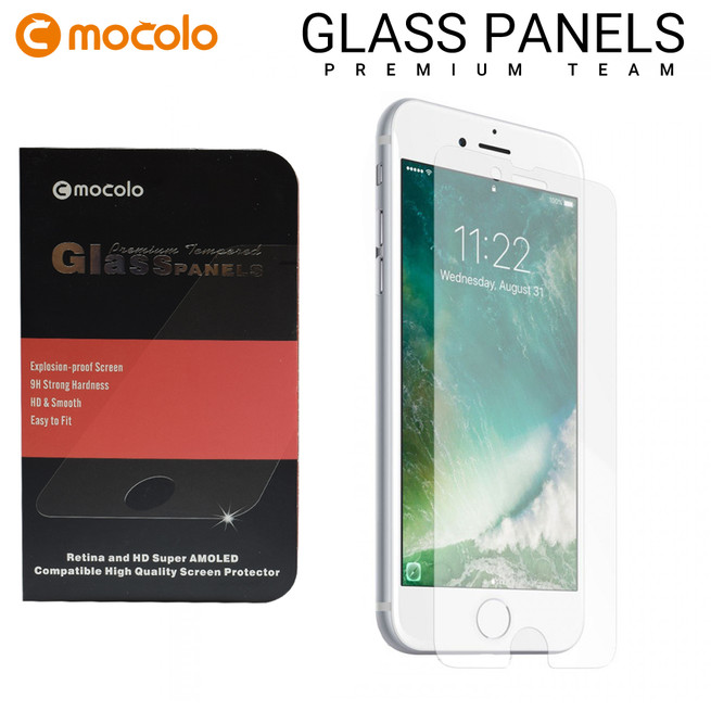 محافظ صفحه گلس شفاف موکولو Mocolo Glass iPhone 8 Plus
