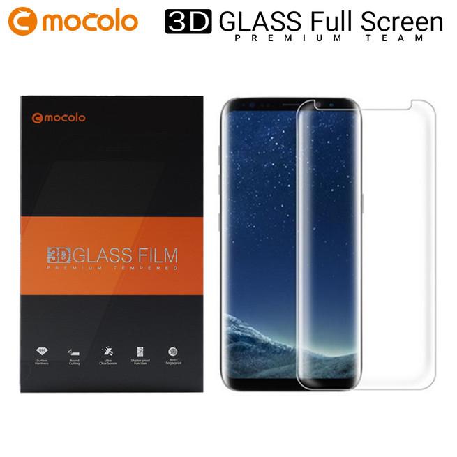 محافظ صفحه گلس شفاف موکولو Mocolo 3D Glass Samsung Note 8