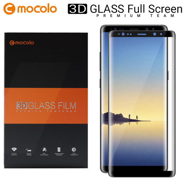 محافظ صفحه گلس فول فریم موکولو Mocolo Full Frame 3D Glass Samsung Galaxy Note 8