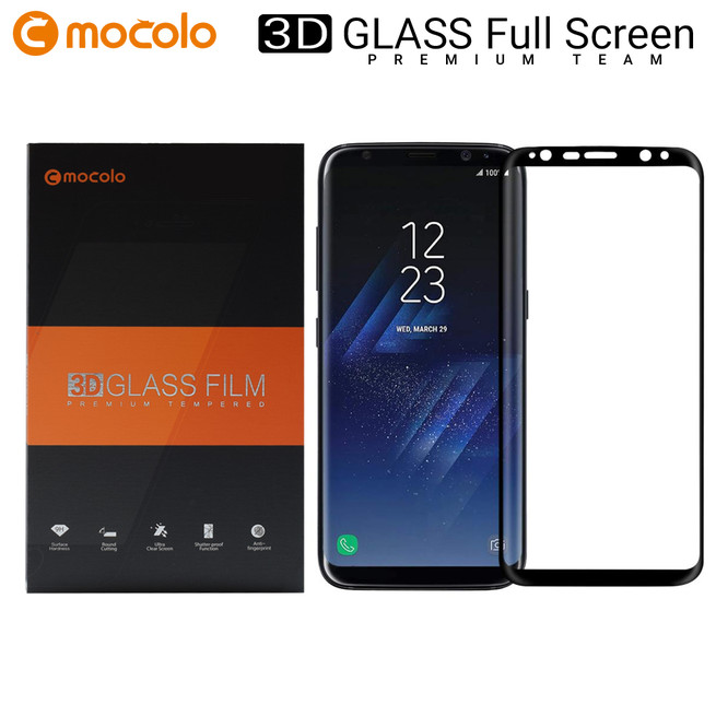 محافظ صفحه گلس فول فریم موکولو Mocolo Full Frame 3D Glass Samsung Galaxy S8 Plus