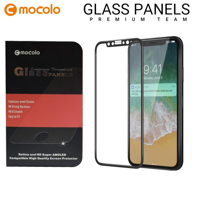 محافظ صفحه گلس فول فریم موکولو Mocolo Full Frame Glass iPhone X