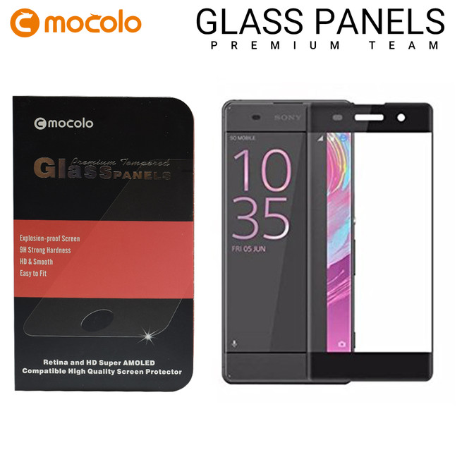 محافظ صفحه گلس فول فریم موکولو Mocolo Full Frame Glass Sony Xperia XA
