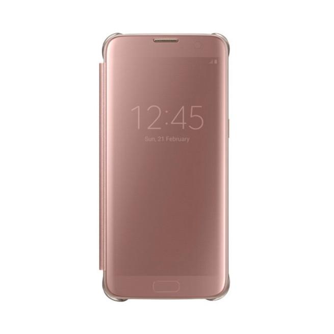 کیف محافظ اصلی Samsung Galaxy S7 Edge Clear View Flip Cover