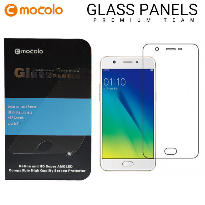 محافظ صفحه گلس شفاف موکولو Mocolo Glass Oppo A57
