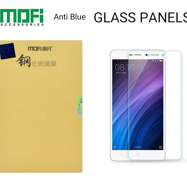 گلس ضد پرتو ماورا بنفش موفی Mofi Glass Xiaomi Redmi 4X