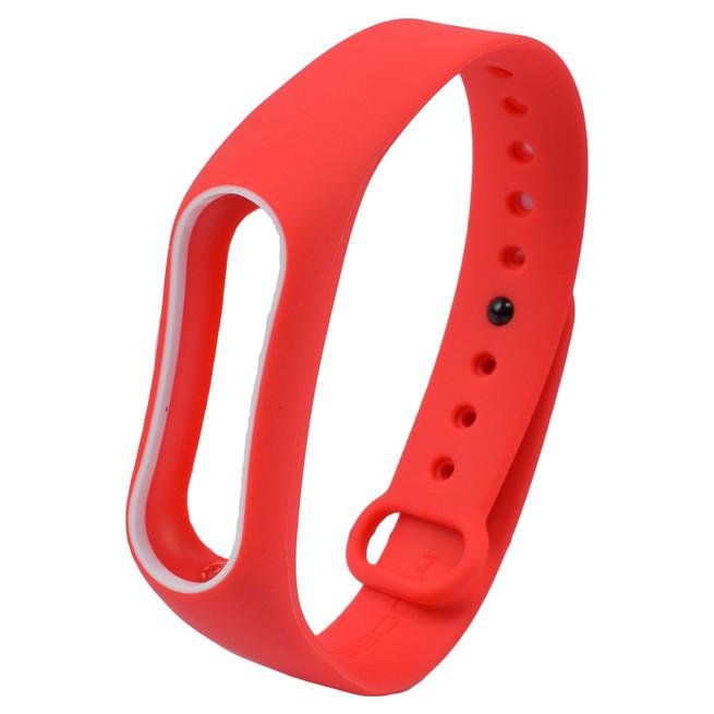 بند سیلیکونی دور رنگی دستبند سلامتی Xiaomi Mi Band 2 Strap کد P260