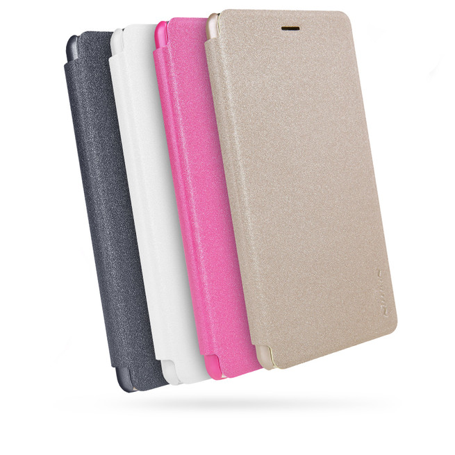 کیف محافظ نیلکین Nillkin Sparkle Leather Case Huawei P9 Lite
