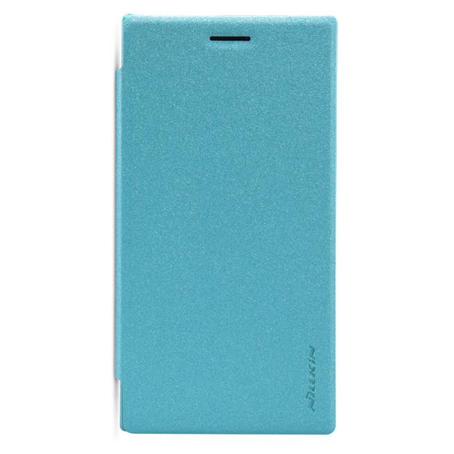 کیف محافظ نیلکین Nillkin Sparkle Leather Case Microsoft Lumia 830