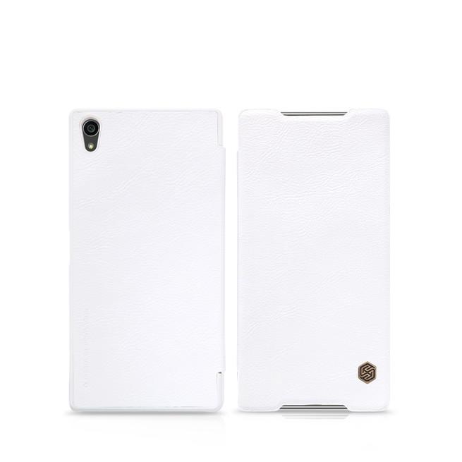 کیف محافظ نیلکین Nillkin Qin Leather Case Sony Xperia Z5 Premium