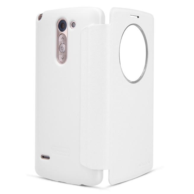 کیف محافظ نیلکین Nillkin Sparkle Leather Case LG G3 Stylus