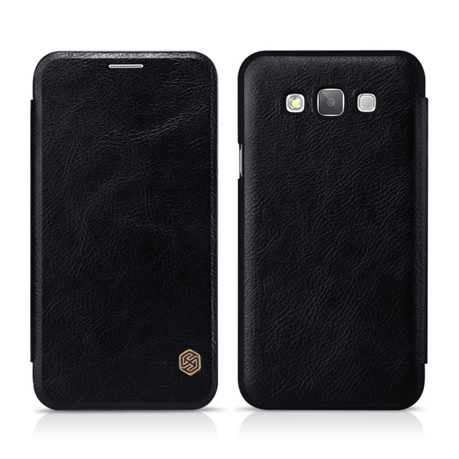 کیف محافظ نیلکین Nillkin Qin Leather Case Samsung Galaxy E7